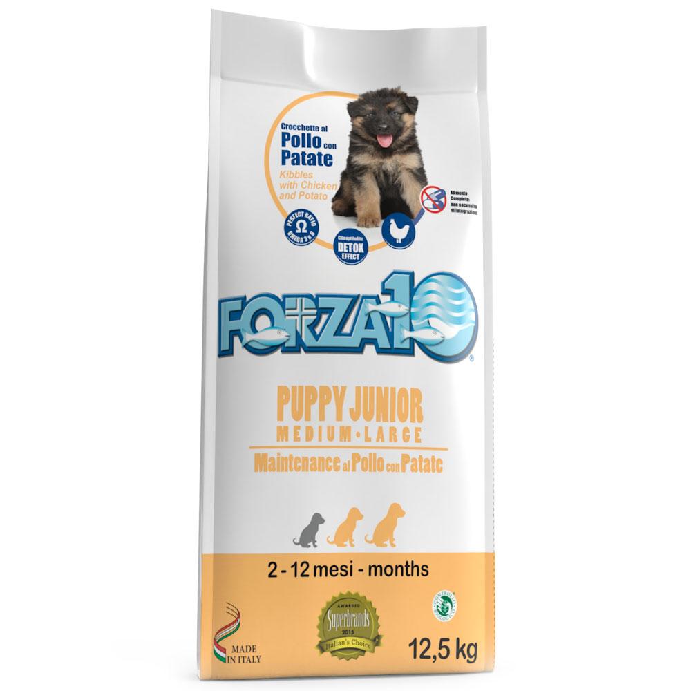 FORZA10 Puppy Junior kg12,5 - medium/large POLLO con Patate