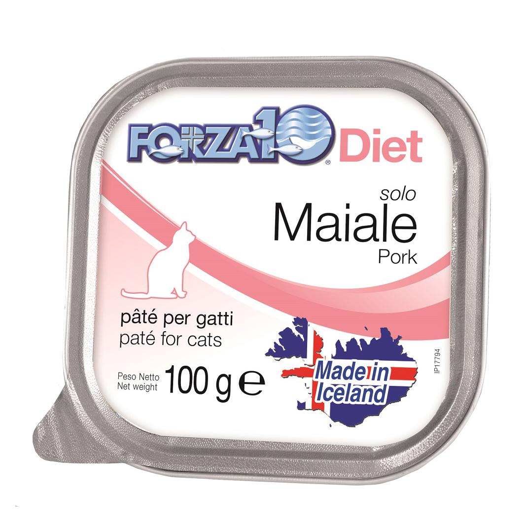 FORZA10 Gatto gr100 SOLO DIET Maiale