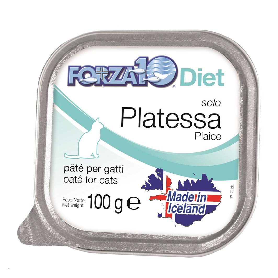 FORZA10 Gatto gr100 SOLO DIET Platessa