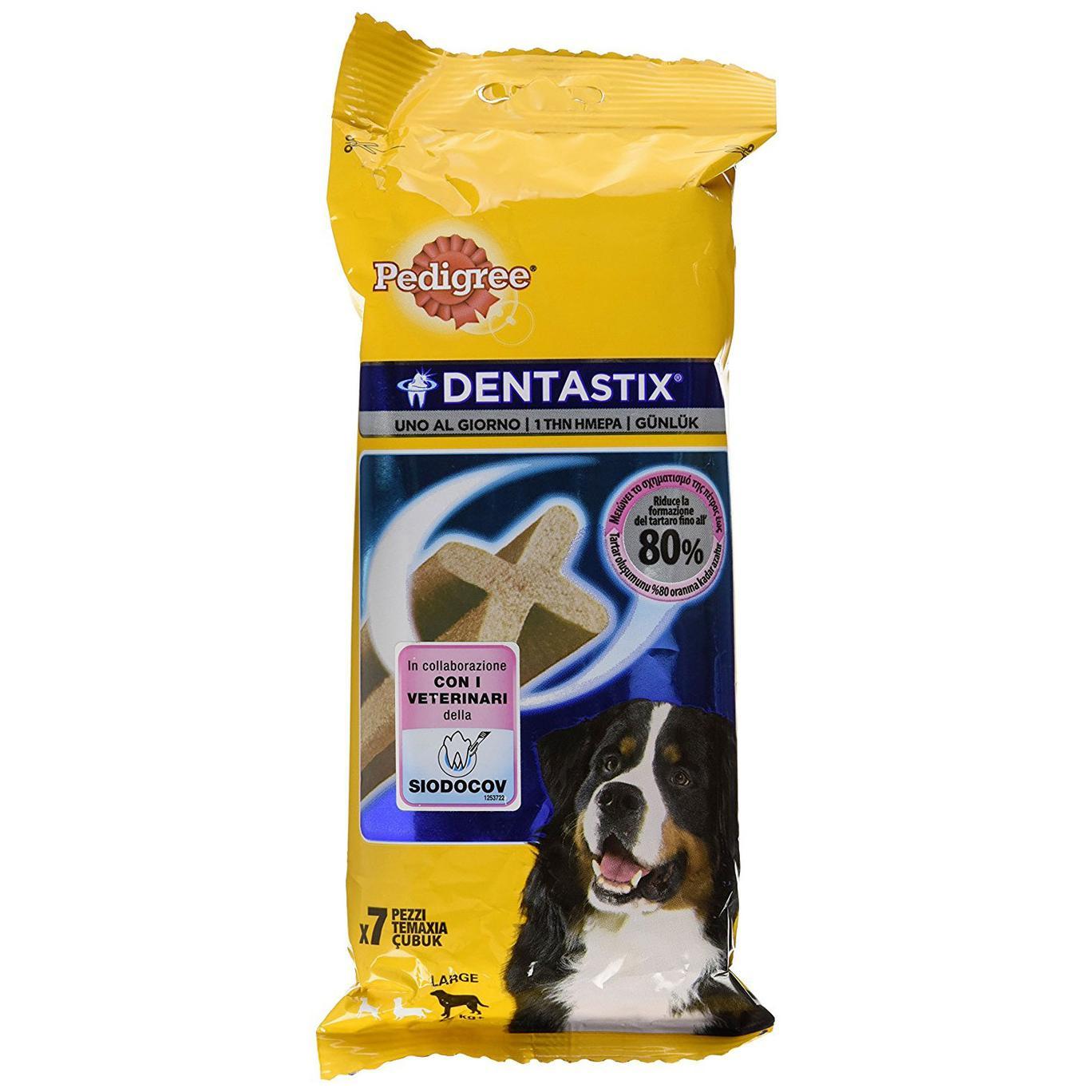 Pedigree Dentastix Uno al Giorno Maxi 25 kg - 7 Pezzi da 270 gr