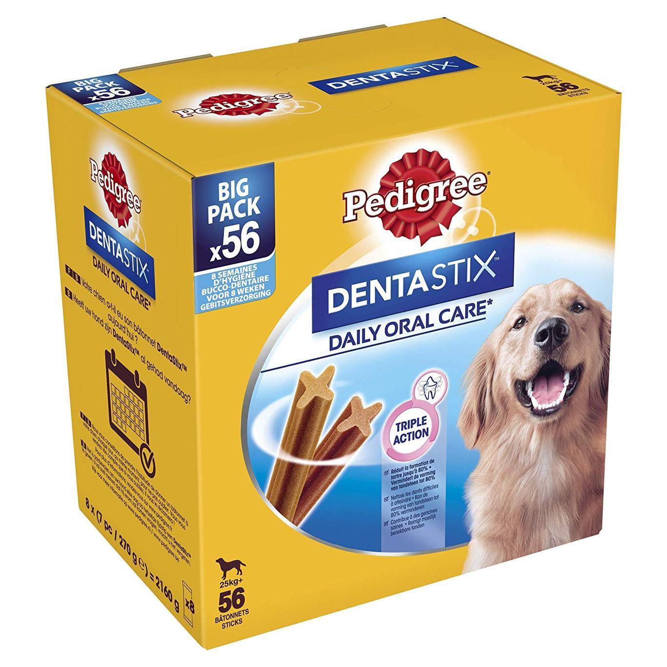 Pedigree DENTASTIX multipack 56 bastoncini per cani di taglia GRANDE