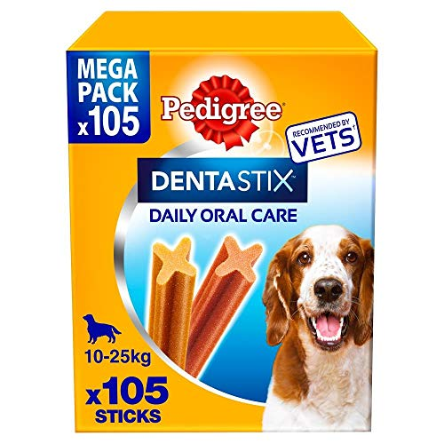 Pedigree Dentastix MEGAPACK 105 sticks per cani di taglia MEDIA