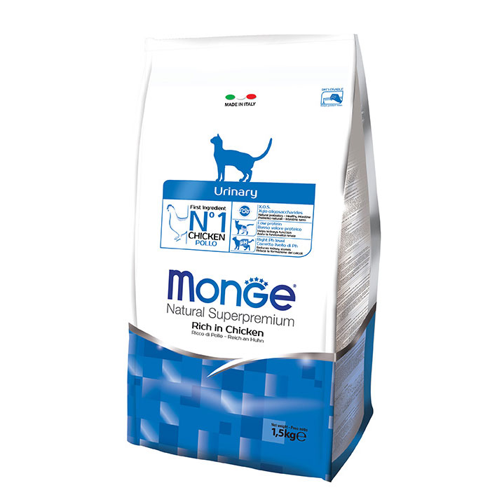 MONGE Cat URINARY CON POLLO KG1,5