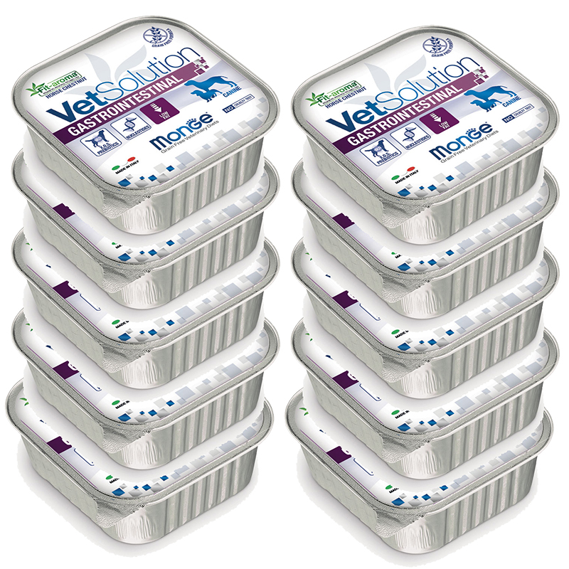 MONGE GASTROINTESTINAL CANINE Low Fat multipack 10xgr150