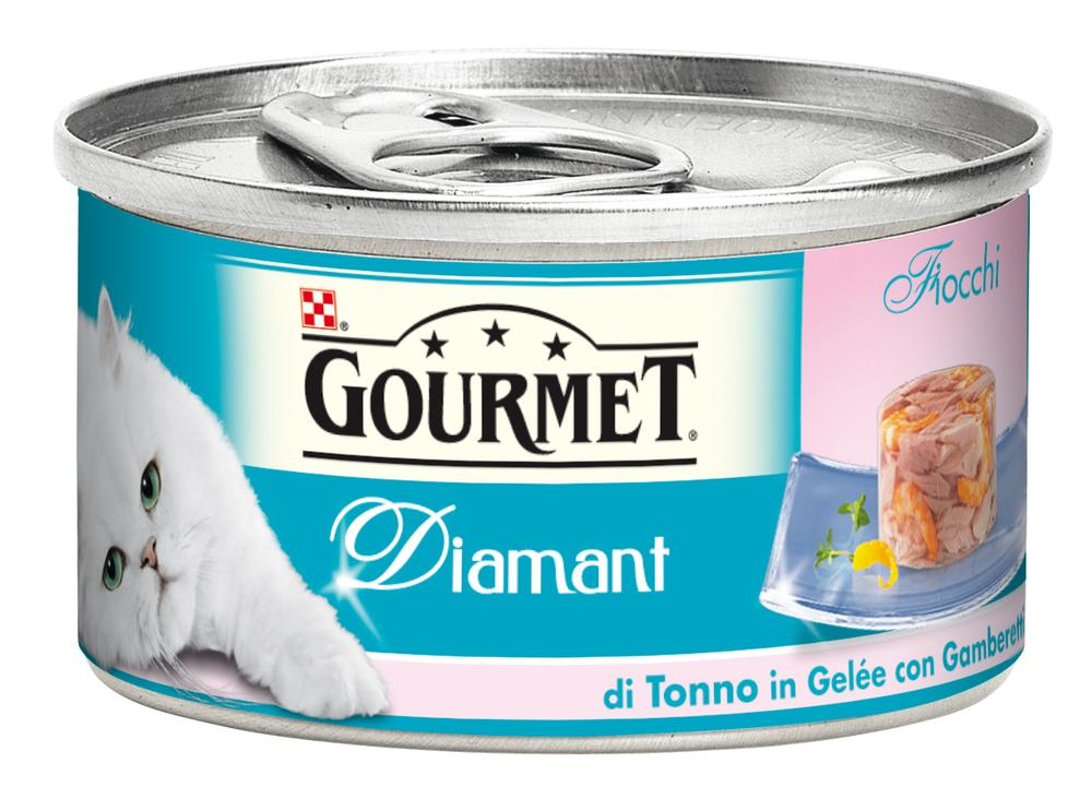 GOURMET DIAMANT LATTINA GR85 TONNO E GAMBERETTI