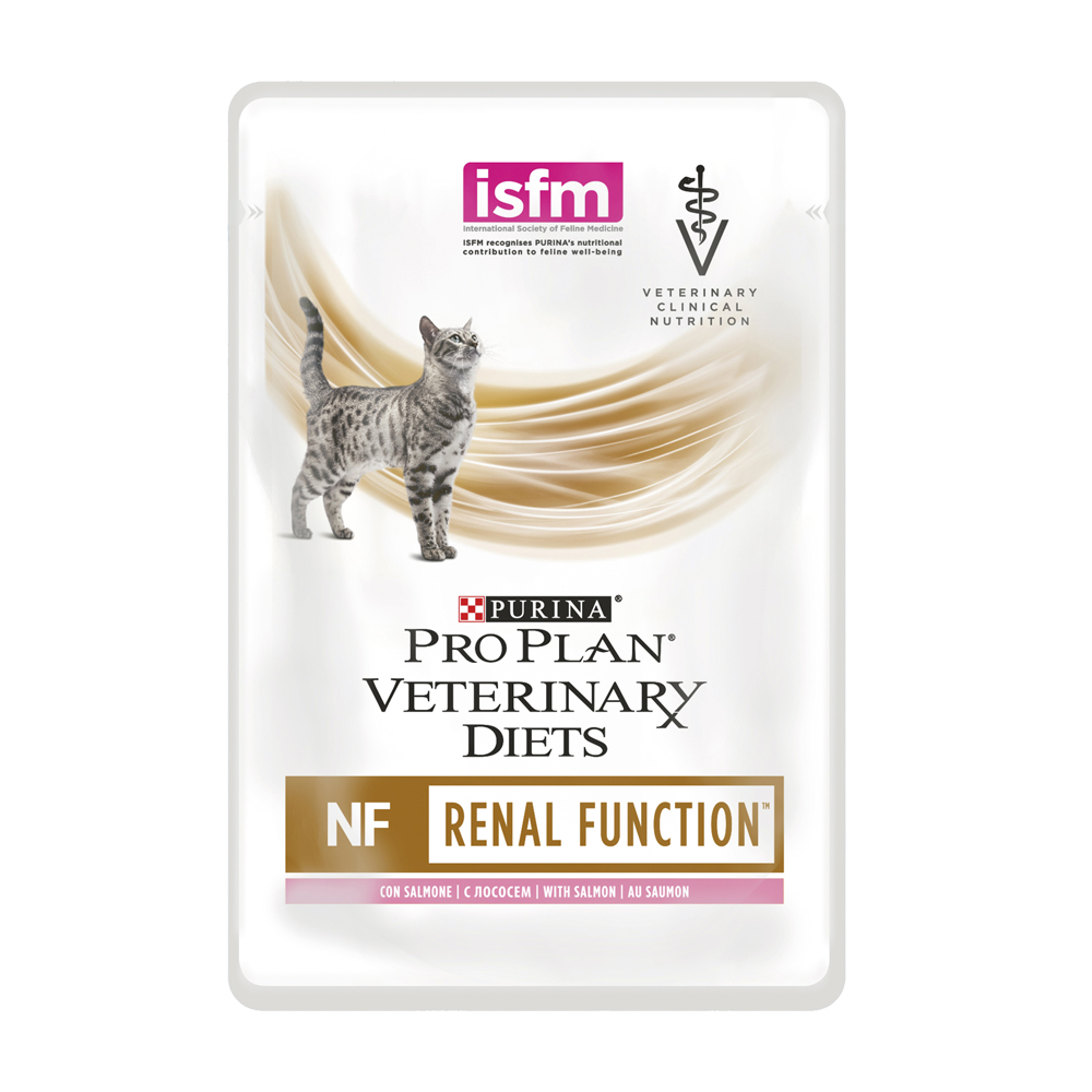 PURINA PRO PLAN VETERINARY DIETS Feline NF Renal Function con Salmone 10x85gr