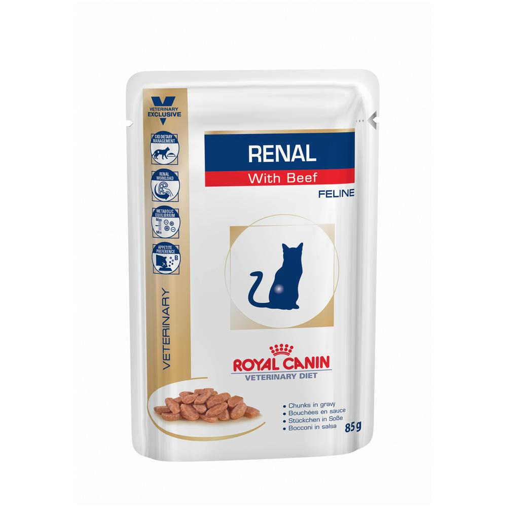 RENAL CAT BEEF UMIDO PACK 12BUSTE