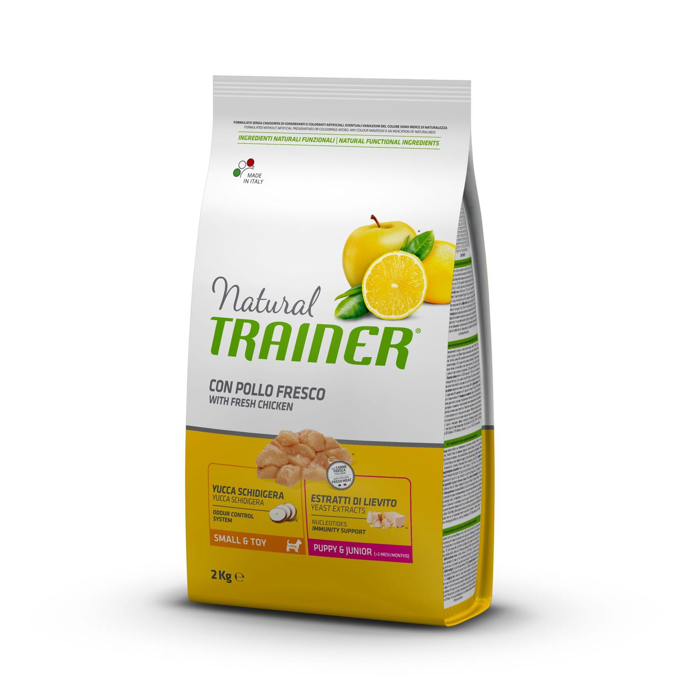 Trainer Natural Puppy&Junior Mini Pollo kg2