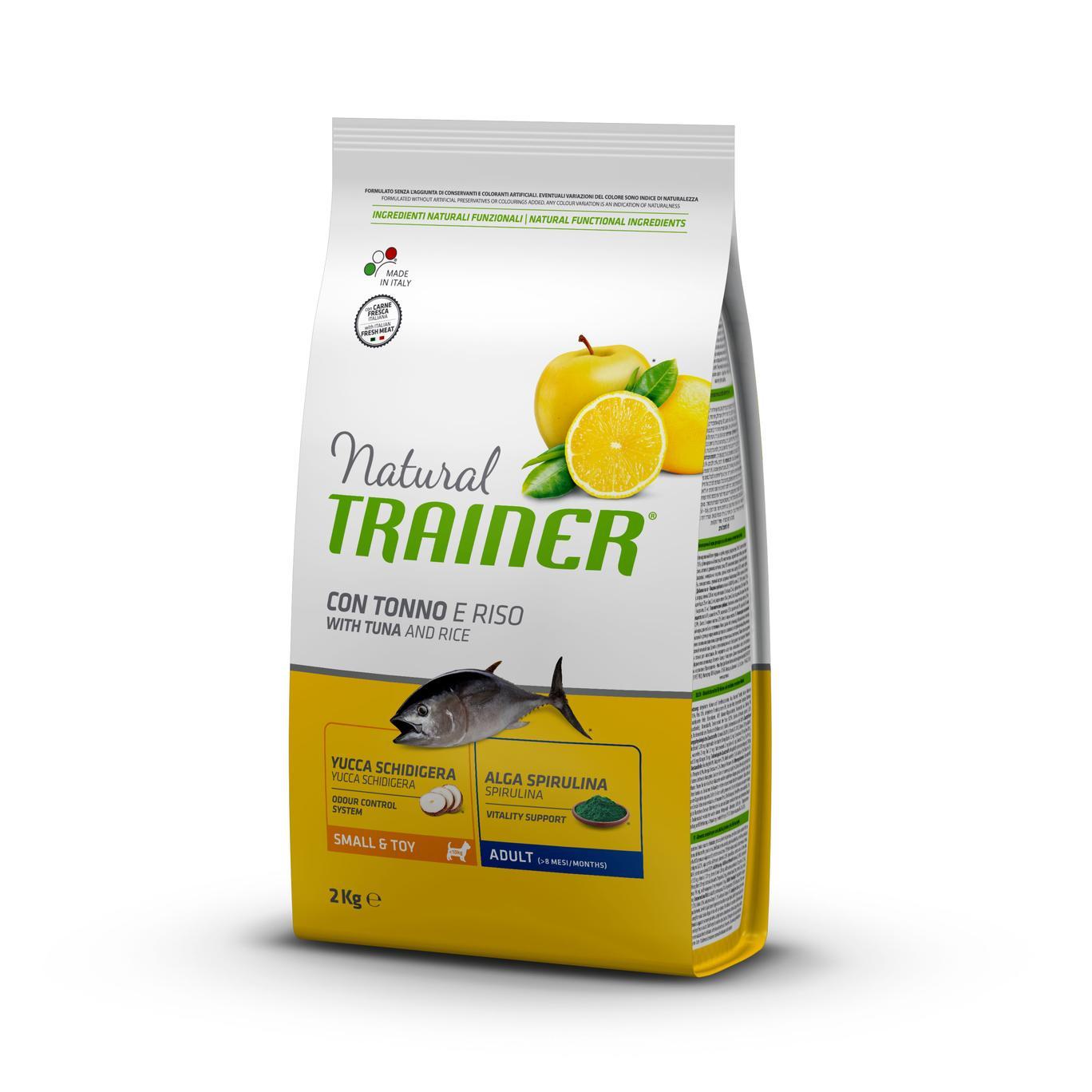 Natural Trainer Adult Mini con Tonno kg2