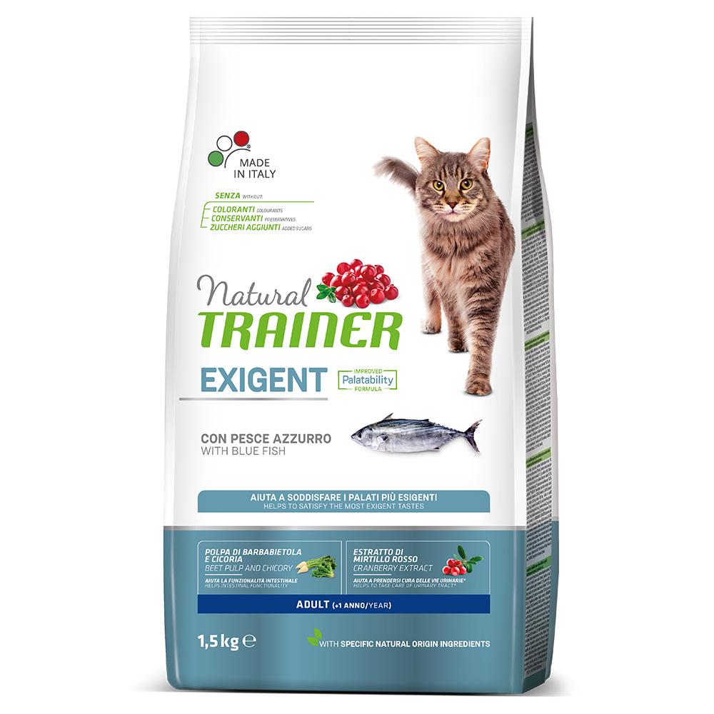 Natural TRAINER CAT Exigent Adult con Pesce Azzurro kg1,5
