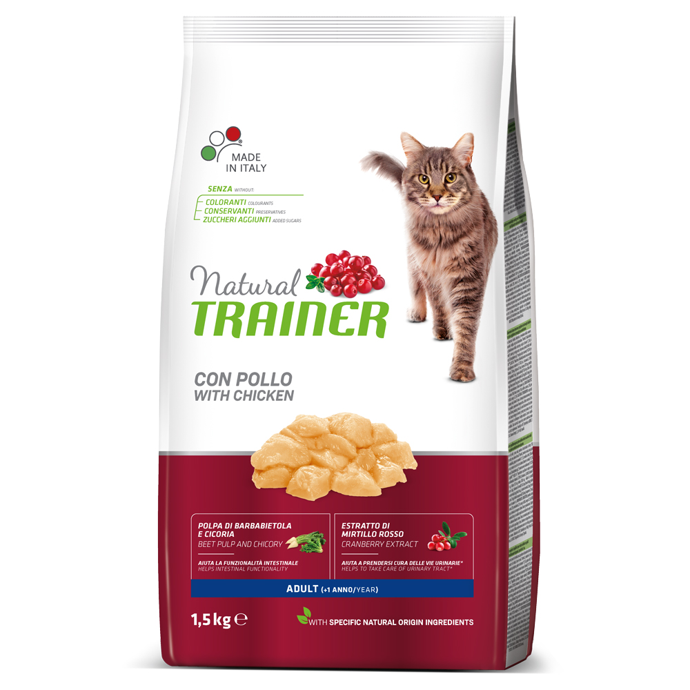 Natural TRAINER CAT Adult con POLLO kg1,5