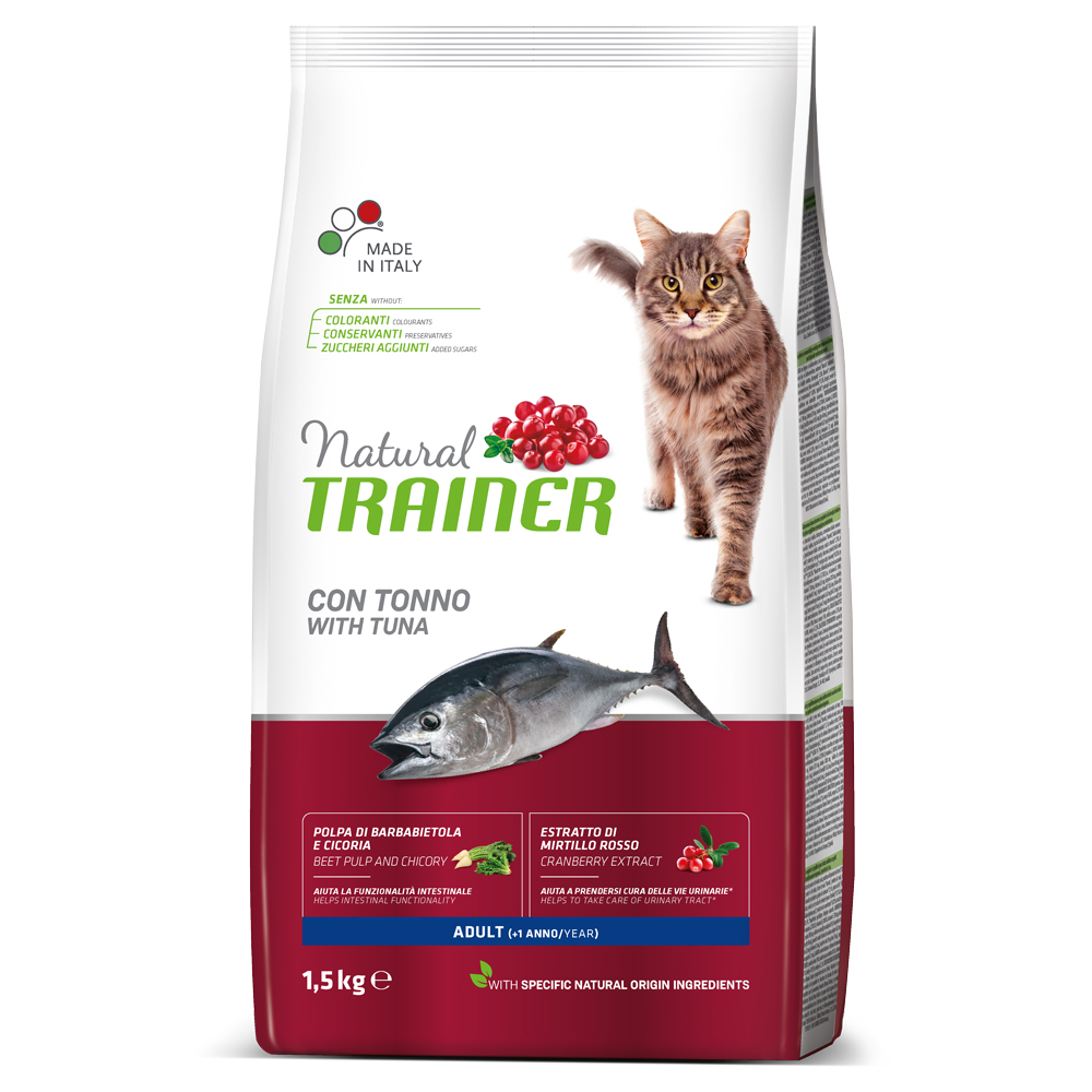 Natural TRAINER CAT Adult con TONNO kg1,5