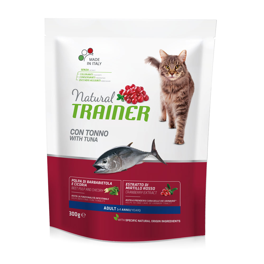 Natural TRAINER CAT Adult con TONNO gr300