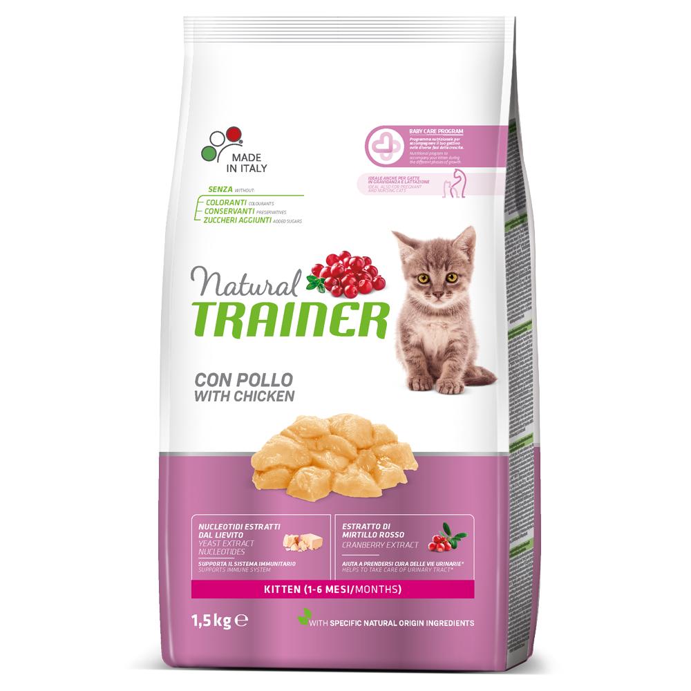 Natural TRAINER CAT Kitten con Pollo kg1,5