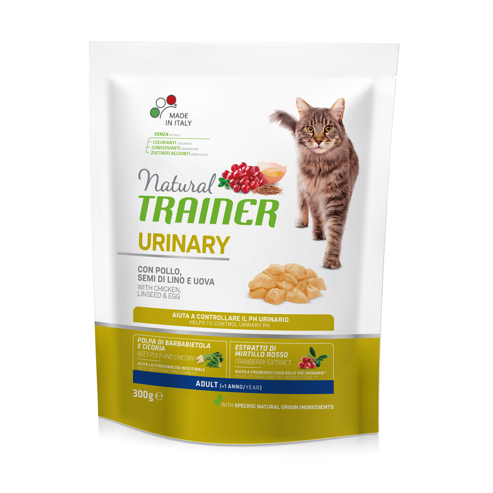 Natural TRAINER CAT Urinary Adult con Pollo gr300