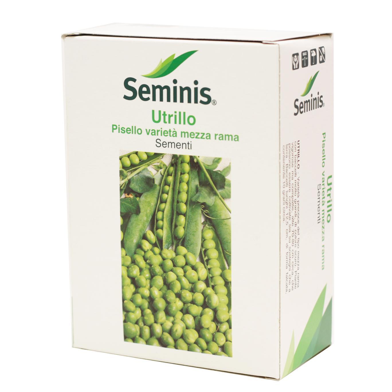 Semi di Pisello UTRILLO da gr.1000 varietà mezza rama