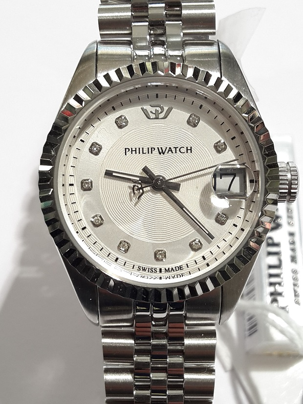 OROLOGIO PHILIP WATCH CARIBE REF R8253597502 CON  INDICI DI DIAMANTI