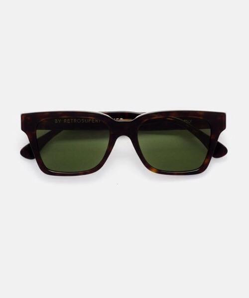 Super America Green  Retrosuperfuture Occhiali da Sole Unisex