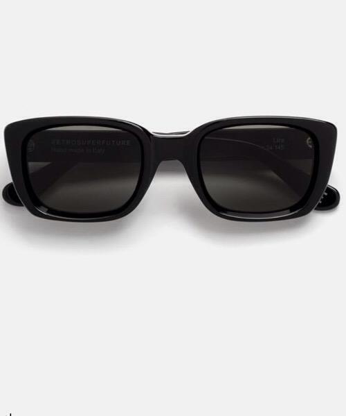 Super Lira Black Retrosuperfuture Occhiali da Sole Unisex