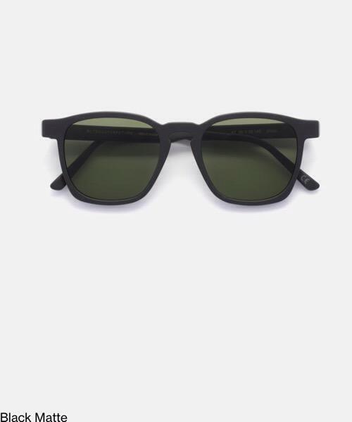 Super Unico Black Matte Retrosuperfuture Occhiali da Sole Unisex