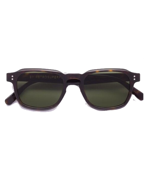 Super Luce Green Retrosuperfuture Occhiali da Sole Unisex
