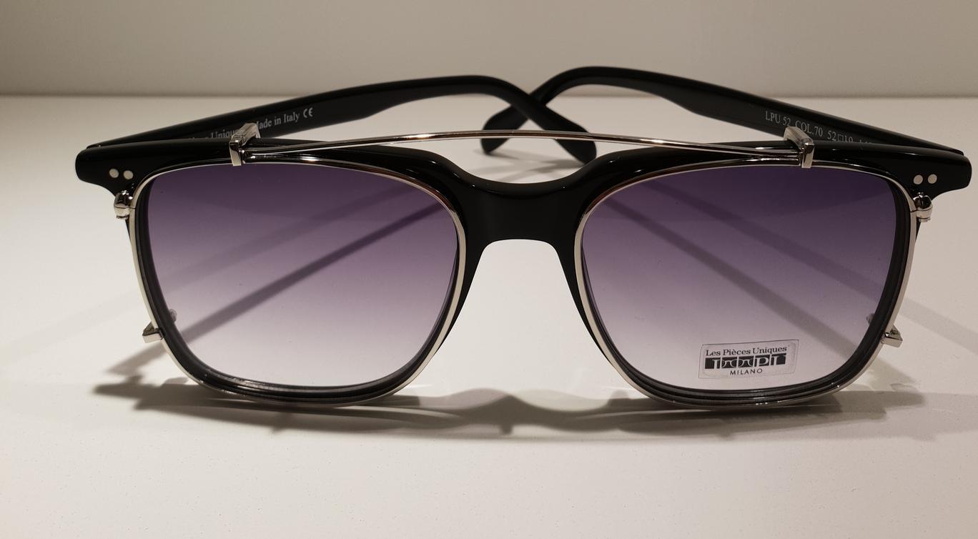 Occhiali da vista LES PIECES UNIQUES con clip-on da sole