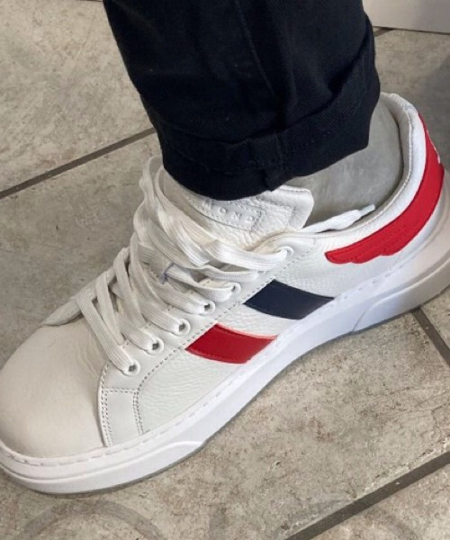 John Richmond - Sneakers in canvas bianco