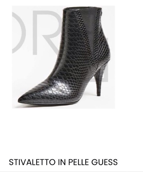 STIVALETTO IN PELLE GUESS