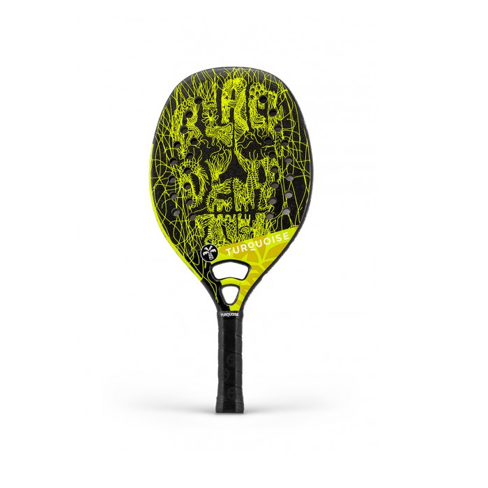 RACCHETTA BEACH TENNIS BLACK DEATH CH 2019 Turquoise