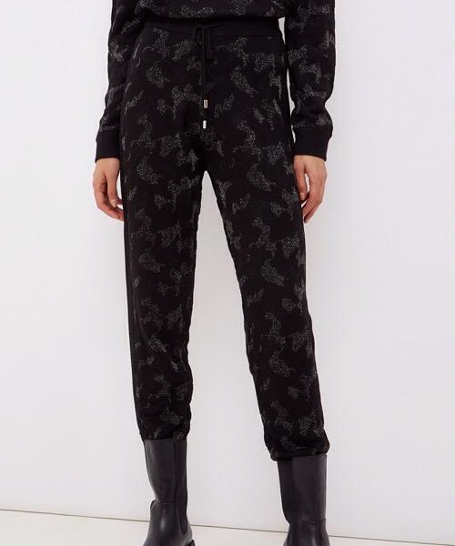 Liu Jo Pantalone camuflage in lurex