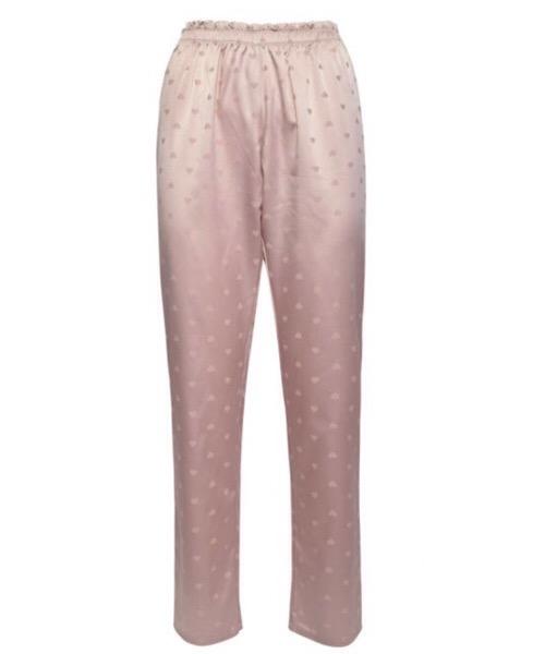 Verdissima  Pantaloni lunghi realizzati in raso jacquard