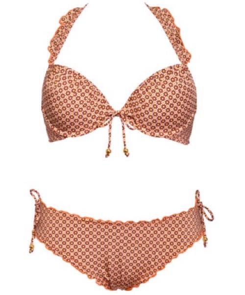 Bikini PUSH-UP + SLIP CON LACCETTI  Verdissima