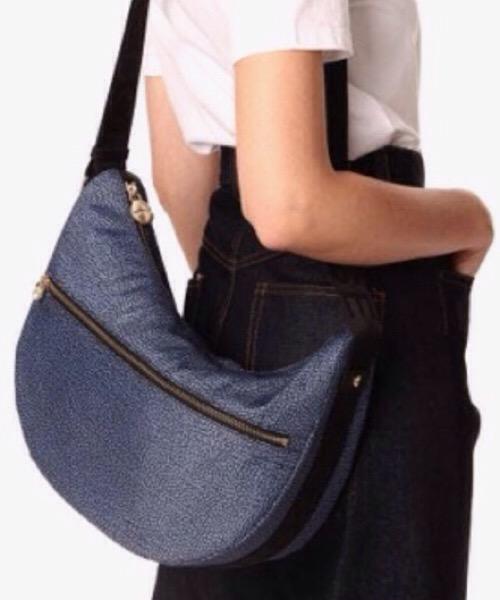 Luna bag  Middle blu