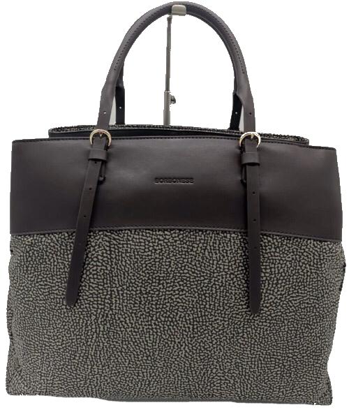 Borbonese Shopping bag large  dark  brown