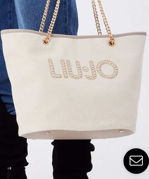 LIU JO Shopping bag in canvas