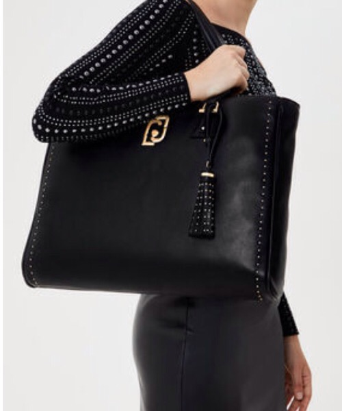 Shopping bag con charm Liu Jo