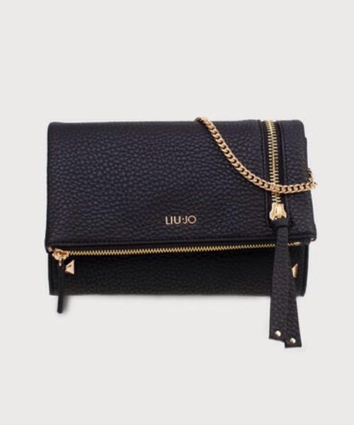 pochette nera nf0055 con zip  Liu Jo