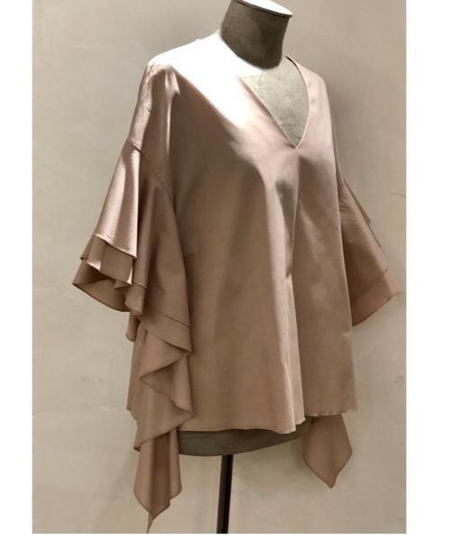 Blusa  in cotone elasticizzato The M