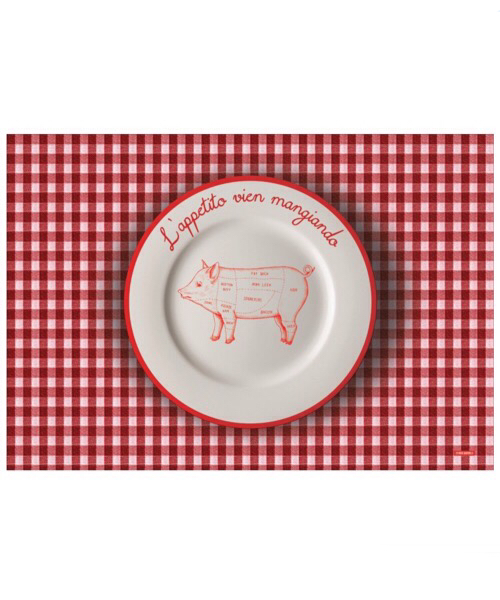 Tovaglietta all'americana Appetito serie 'Mangia e Impara'