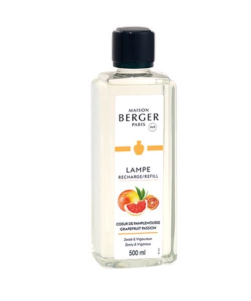 Maison Berger -  Maison Berger - Coeur de Pamplemousse 500ml (Ricarica per Lampe) 500 ml / 1L (Ricarica per Lampe) catalitica