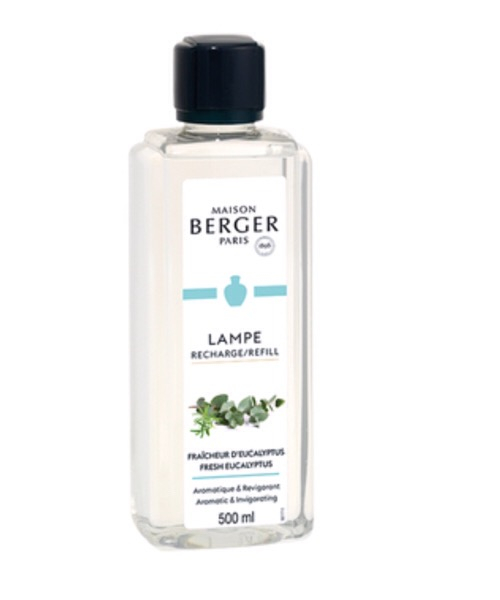 Maison Berger - Fraicheur d'Eucalyptus   500 ml / 1L (Ricarica per Lampe) catalitica