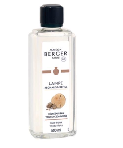 Maison Berger - Cedre du Liban 500 ml / 1L (Ricarica per Lampe) catalitica