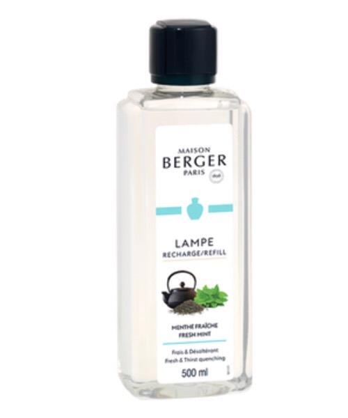 Maison Berger - Menthe Fraiche 500 ml / 1L (Ricarica per Lampe) catalitica