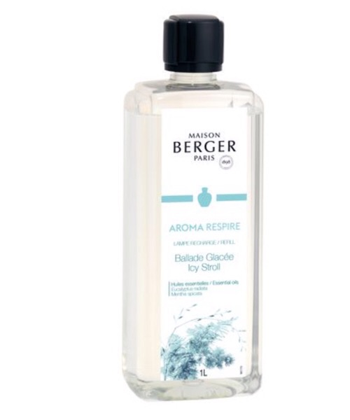 Maison Berger - Aroma Respire  500 ml / 1L (Ricarica per Lampe) catalitica