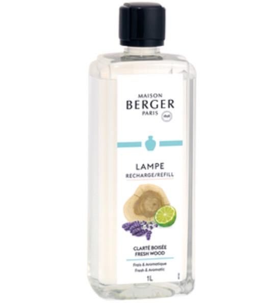 Maison Berger - CLARTÉ BOISÉE 500 ml / 1L (Ricarica per Lampe) catalitica