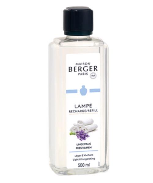 Maison Berger - Linge Frais 500 ml / 1L (Ricarica per Lampe) catalitica