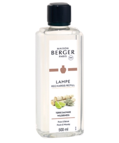 Maison Berger - Terre Sauvage 500 ml / 1L (Ricarica per Lampe) catalitica