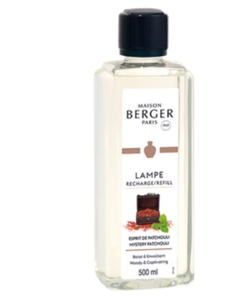 Maison Berger - Esprit de Pathcouli 500 ml / 1L (Ricarica per Lampe) catalitica