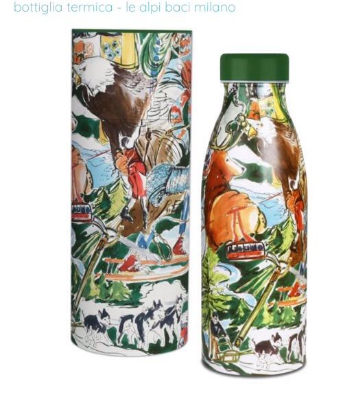 Baci Milano Bottiglia termica Alpi