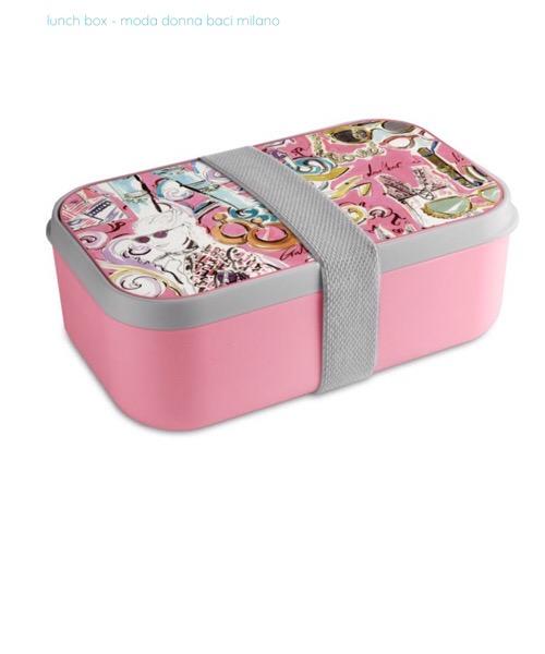 Lunch box / contenitore per pranzo moda donna Baci Milano